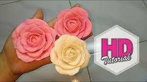 Diy Membuat Bunga Mawar Dari Clay Sabun Hd Tutorial Youtube