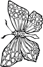 Stained Glass Coloring Pages Butterfly Free Printable Coloring Pages