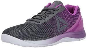 reebok nano 7. reebok women\u0027s crossfit nano 7.0 track shoe, alloy/vicious violet/white, 5 7 l