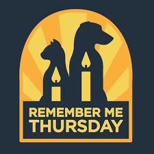 Image result for remember me thursday