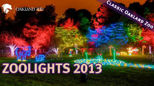 Oakland Zoo Lights 2014 Oakland Zoo Set To Plug In Zoolights An Annual Holiday