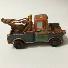Hot Wheels Disney Pixar Brown tow truck Diecast Toy Story Movie Cars ...