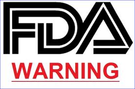 Image result for usfda warning letter