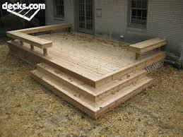 Creativity Simple Wood Patio Designs Deck Ideai Like The Look In General Would Intended Ideas