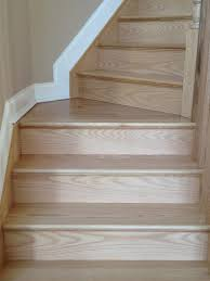 How To Hardwood Stairs Gorsegner Brothers Hardwood Floors Features Replacement Red Oak