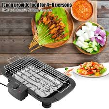 <b>Electric</b> Heating BBQ <b>Household</b> Grill <b>Smokeless</b> Barbecue Machine ...