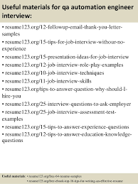 ... 14. Useful materials for qa automation engineer ...