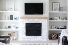 enchanting diy built in shelves next to fireplace our living room recently built in shelves fireplace