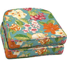 Better Homes and Gardens Outdoor Wicker Seat Cushion with Welt