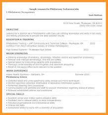 12 13 Certified Phlebotomist Resume Loginnelkriver Com