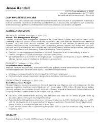 Credit Analyst Resume Example Sample Resume For Credit Analyst Entry Level Analyst Credit Analyst