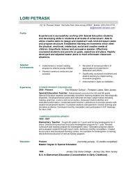 Teacher Resume Template Word Best Resume Templates For Educators Everything Of Letter Sample