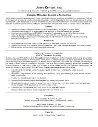 accounting resume examples le classeur com examples of accounting resumes
