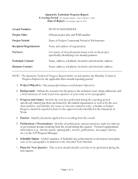 business quarterly report template 10 best images of professional business quarterly report template