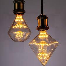 Led Light Bulb G95g125 Diamond E27 110v 220v Dimmable Decorative