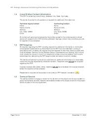 Tender Document Template Simple Website Redesign Proposal Template Saunaweb