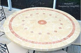 60 round outdoor dining table outdoor patio marble stone round table 60 outdoor dining table
