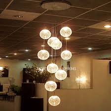 lighting high ceilings. industrial e14 round ball ceiling lights high quality large long stair 10 lustres de teto lighting ceilings f