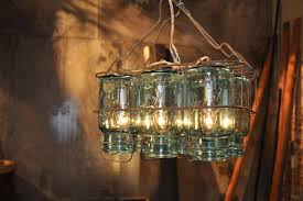 decoration: Captivating Lamplight In Usual Building And Simple Decorated  Mason Jars With Hanging Desaign Ideas