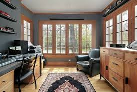 converting garage into office. Converting Garage Into Elegant Home Office. Good Idea. Like The Windows, Not Colors. Office E