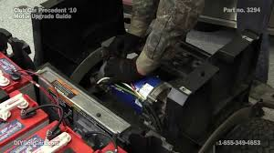 club car precedent high sd motor upgrade how to install on golf cart you