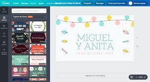 Aplicaciones Para Hacer Invitaciones Gratis Diseña Etiquetas Para Mesa De Dulces Online Gratis Canva