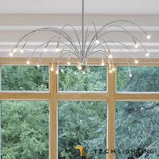staccato chandelier tech lighting