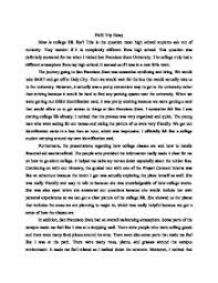 about college life essay college life essays