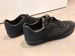 Louis Vuitton Men Shoes Black