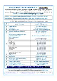 Ppt List Of Eqhsms Documents Required For Iso 9001 Iso