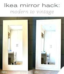 round mirror home gym mirrors wall large big ikea malaysia mirro