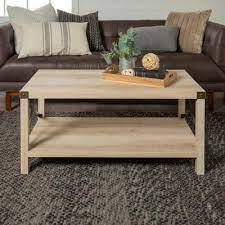 white oak accent tables living room