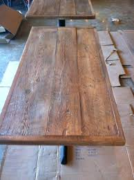 dining table tops wood best nomad pizza images on furniture concrete reclaimed white weathered top bar pub wooden room