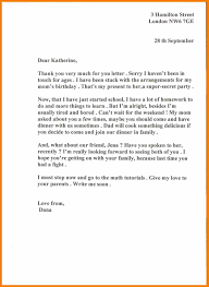 Thank You Letter To Parents Resume Template
