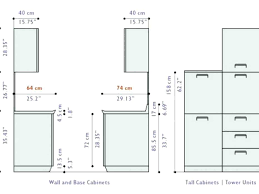 Standard Depth Of Kitchen Cabinets Interesting Standard Kitchen Cabinet Dimensions Standard Kitchen Cabinet Height