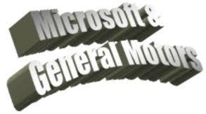 Microsoft And General Motors