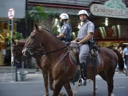 military police satildeo paulo state military police mounted police officers in satildeo paulo