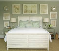 green and gray bedroom. gray green grasscloth and bedroom e