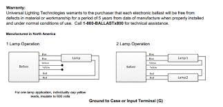 universal ballast wiring diagram universal image ballast wiring diagram for 4 bulb fixtures wiring diagram on universal ballast wiring diagram