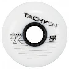 Konixx Tachyon Roller Hockey Wheel White