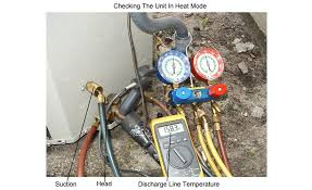 Checking The Charge On A Heat Pump In The Winter 2018 11