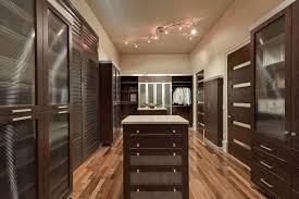 nahb custom closet in espresso melamine