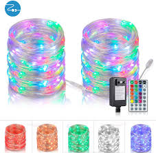 What To Do With Rope Lights Outdoor String Lights Rope Lights 66 Ft 200 Leds Led String Lights Rope Lights With Remote Connectable Multicolor Lights Color Changing Lights For