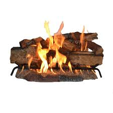 vented natural gas fireplace logs cso30ng the home depot