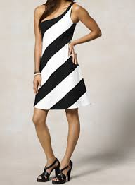 the striped ralph lauren rugby one shoulder dress that makes you look skinny