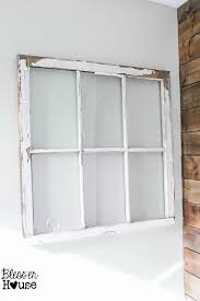 bless er house spring inspired rustic industrial window wall decor