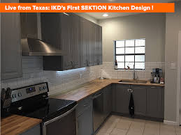 Of An Ikea Kitchen Live From Texas Photos Of Ikds First Ikea Kitchen Design Using