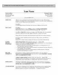 Resume For First Job 100 Unique First Job Resume format Resume Format 83