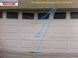 garage door reinforcement bracketHow to fix my garage door Is it possible to fix a splitdent on