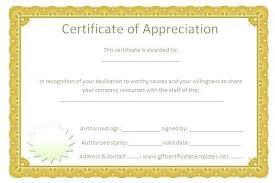 Volunteer Certificate Of Appreciation Templates Editable Outstanding Volunteer Certificate Appreciation Template On